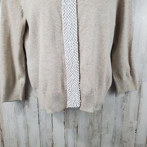 Banana Republic Sweaters - Banana Republic Womens Cardigan L Beige Snap Front